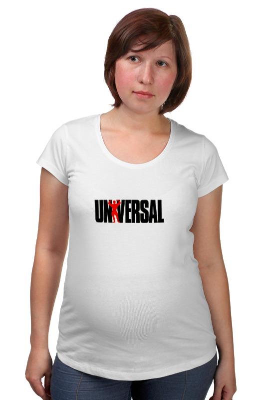 Футболка для беременных Printio Universal nutrition