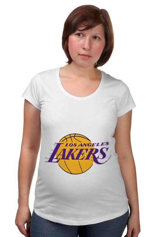 Футболка для беременных Printio Lakers баскетбольную форму lakers