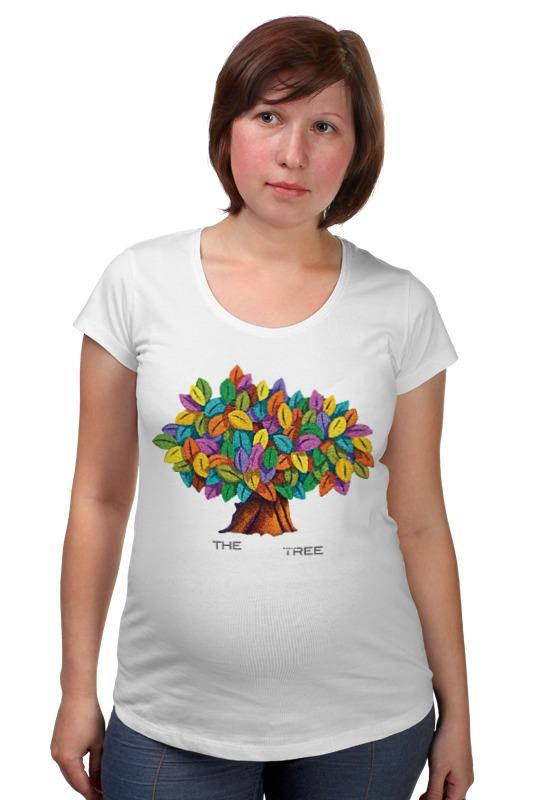 Футболка для беременных Printio Дерево счастья дерево счастья 15100053р