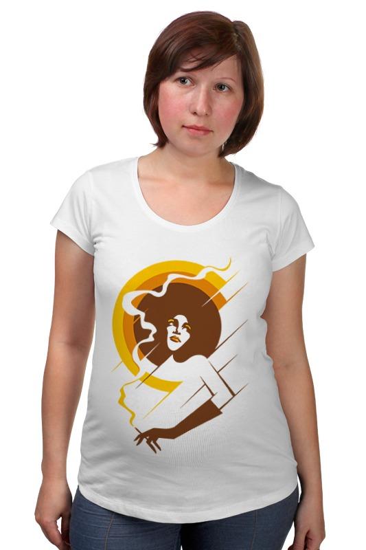 Футболка для беременных Printio Retro lady футболка для беременных printio property of a lady 007