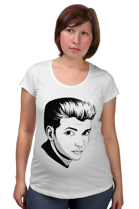 Футболка для беременных Printio Дейв гаан (depeche mode) футболка для беременных printio dave gahan on tour 3