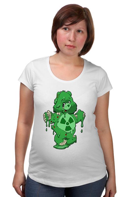 Футболка для беременных Printio Радиоактивный мишка футболка для беременных printio elements of harmony
