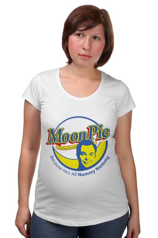 Футболка для беременных Printio Шелдон купер (moon pie) футболка стрэйч printio шелдон купер moon pie