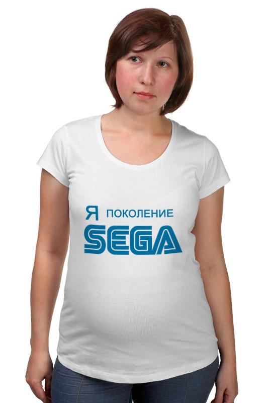 Футболка для беременных Printio Я-sega sega