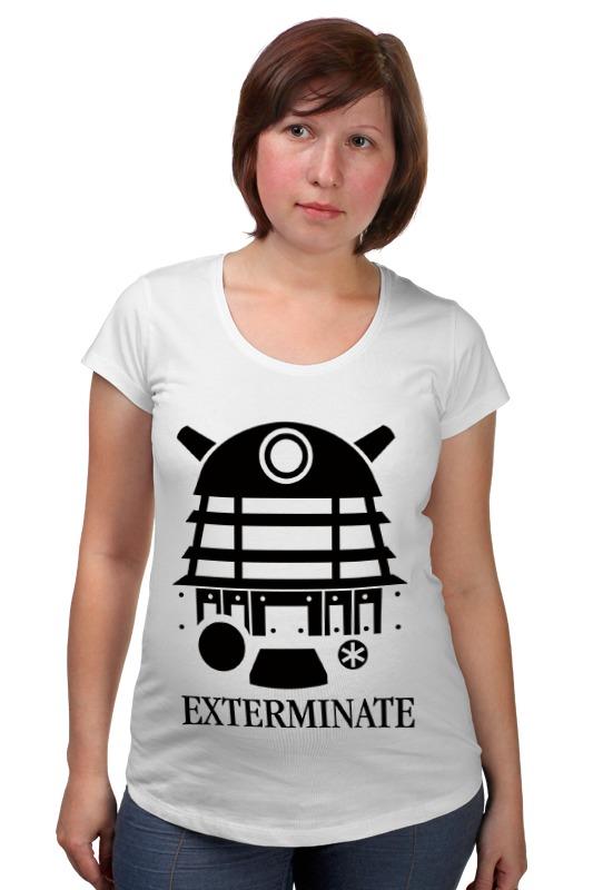 Футболка для беременных Printio Далек (доктор кто) футболка рингер printio доктор кто doctor who