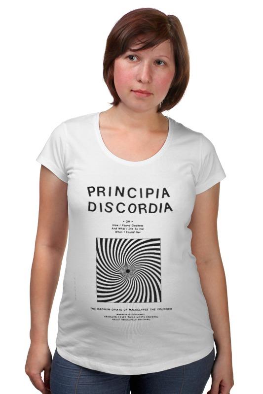 Футболка для беременных Printio Principia discordia акустика центрального канала sonus faber principia center black
