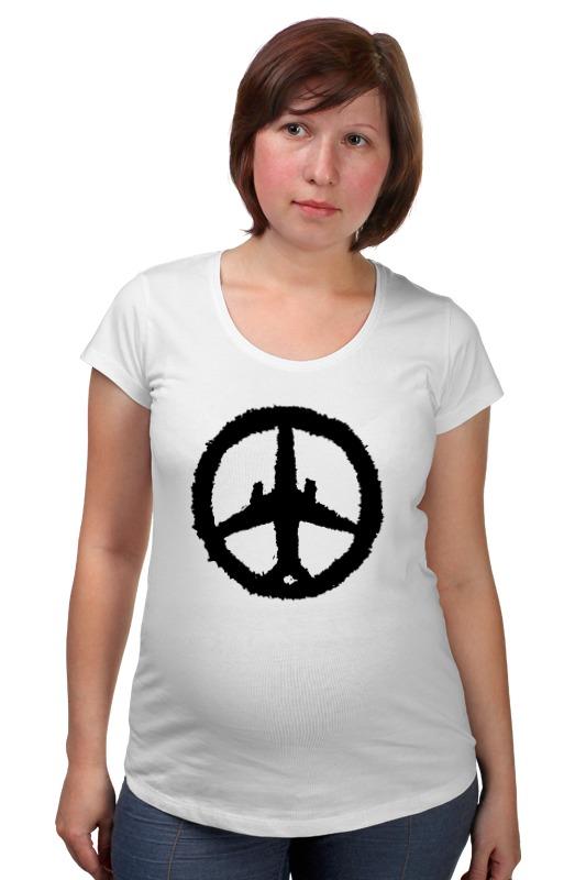 Футболка для беременных Printio Самолет, солидарность, россия (а321) футболка для беременных printio россия украина