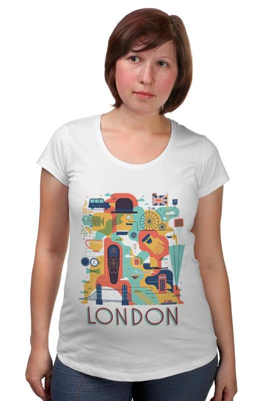 Футболка для беременных Printio Лондон как дешевые билеты в лондон