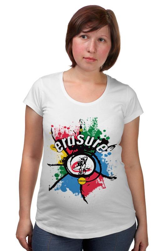 цена на Футболка для беременных Printio Erasure / the circus