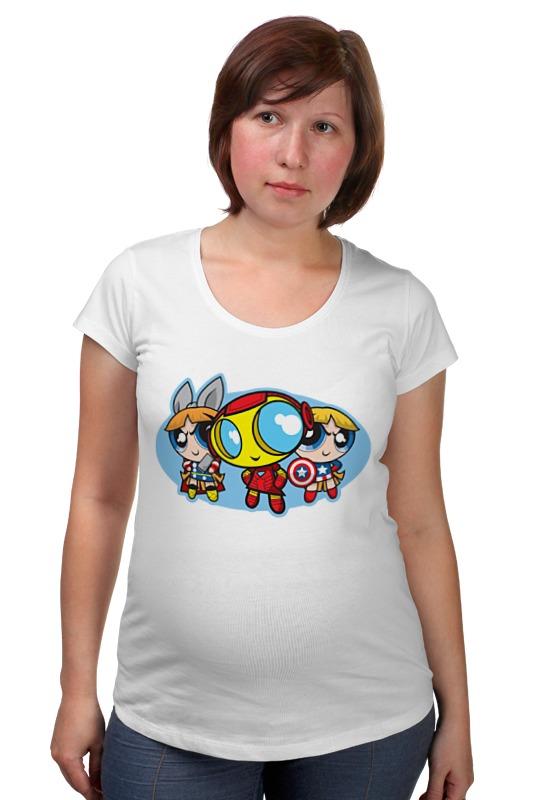 Футболка для беременных Printio Сепергерои чиби футболка для беременных printio россия украина