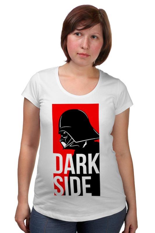 купить Футболка для беременных Printio Darth vader dark side недорого