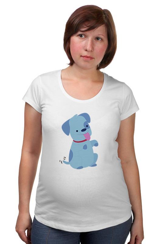 Футболка для беременных Printio Смешная собака товары для беременных