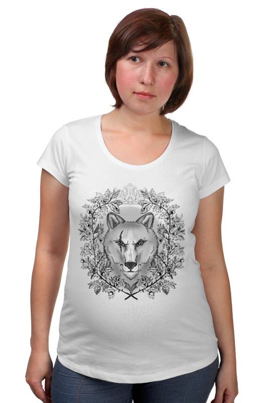 Футболка для беременных Printio Тотем волк футболка для беременных printio олень тотем