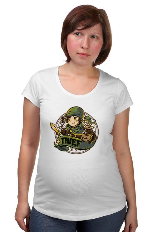 Футболка для беременных Printio Линк (зельда) футболка для беременных printio elements of harmony