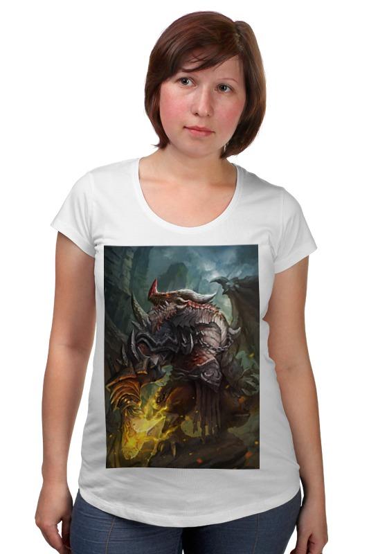 Футболка для беременных Printio Dragon knight футболка для беременных printio россия украина