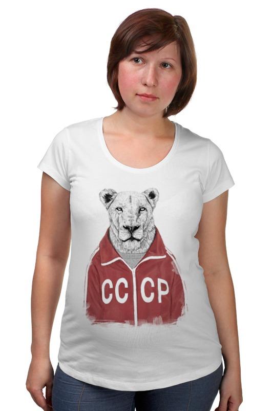 Футболка для беременных Printio Сосетский лев футболка для беременных printio россия украина