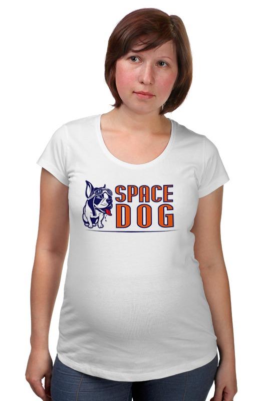 Футболка для беременных Printio Space dog сумка printio gta 5 dog