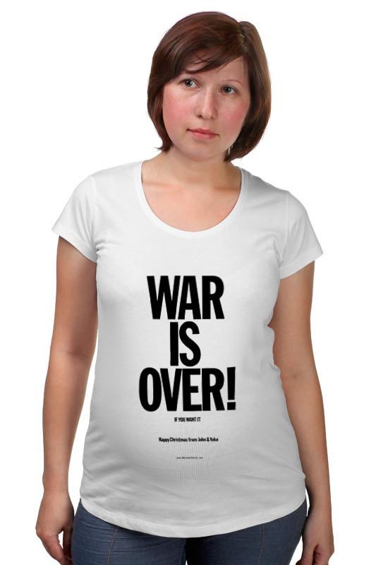 Футболка для беременных Printio War is over / война закончена футболка для беременных printio god of war