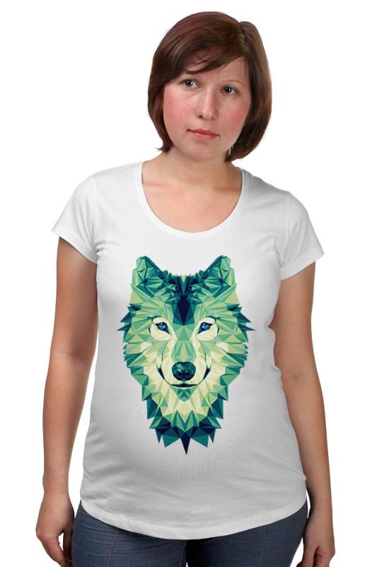 Футболка для беременных Printio Полигональный волк футболка для беременных printio россия украина