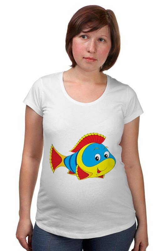 Футболка для беременных Printio Рыбка 3 футболка для беременных printio рыбка