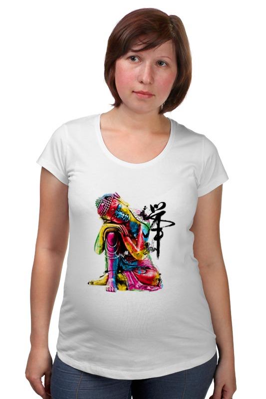 Футболка для беременных Printio Будда футболка для беременных printio качайся