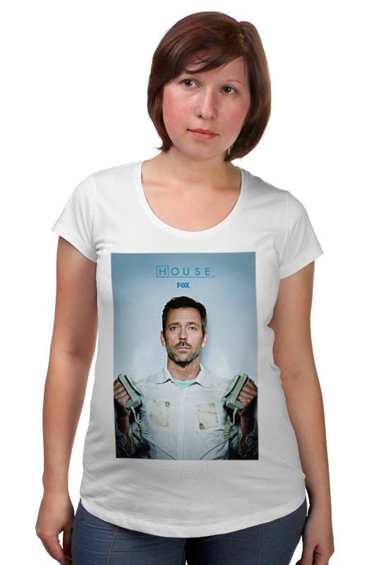Футболка для беременных Printio House / доктор хуас футболка для беременных printio house of pain