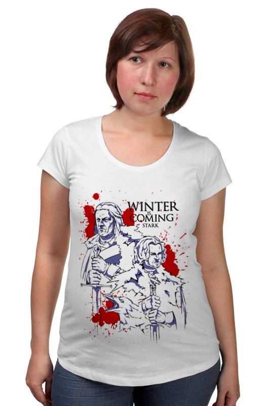 Футболка для беременных Printio Game of thrones футболка для беременных printio game of thrones