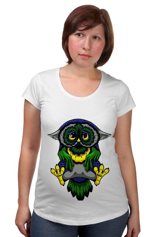 Футболка для беременных Printio Грустная сова футболка для беременных printio россия украина