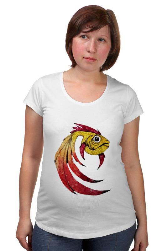 Футболка для беременных Printio Золотая рыбка футболка для беременных printio рыбка