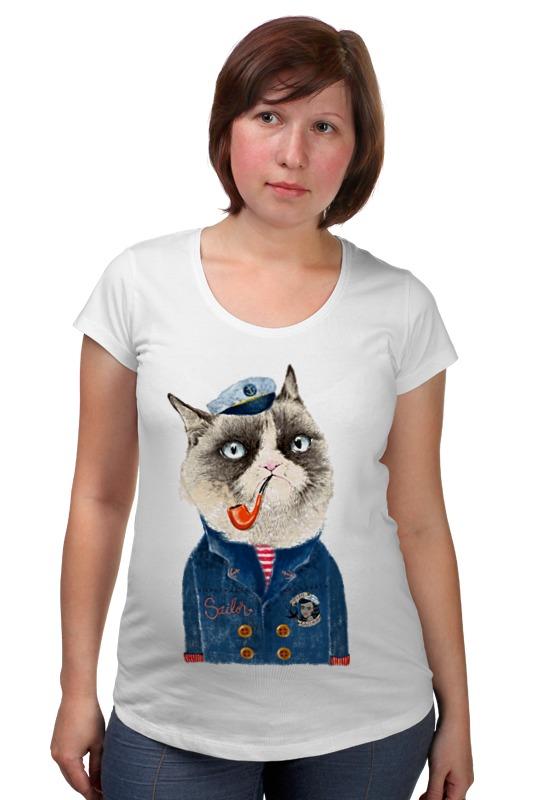 Футболка для беременных Printio Kitty футболка для беременных printio kitty