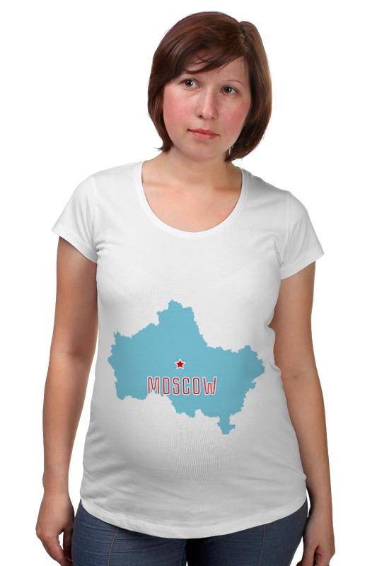Футболка для беременных Printio Московская область. москва лампочки для гетц москва где