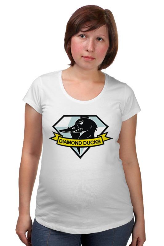 Футболка для беременных Printio Алмазная утка футболка для беременных printio elements of harmony