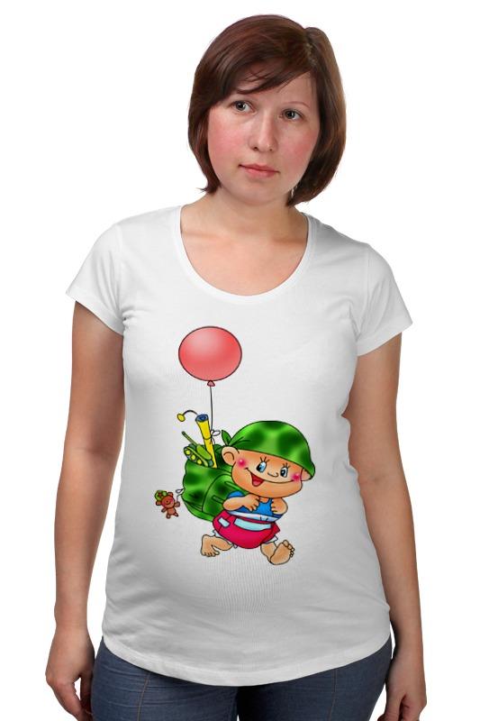 Футболка для беременных Printio Малыш с игрушками. футболка для беременных printio неизвестный солдат