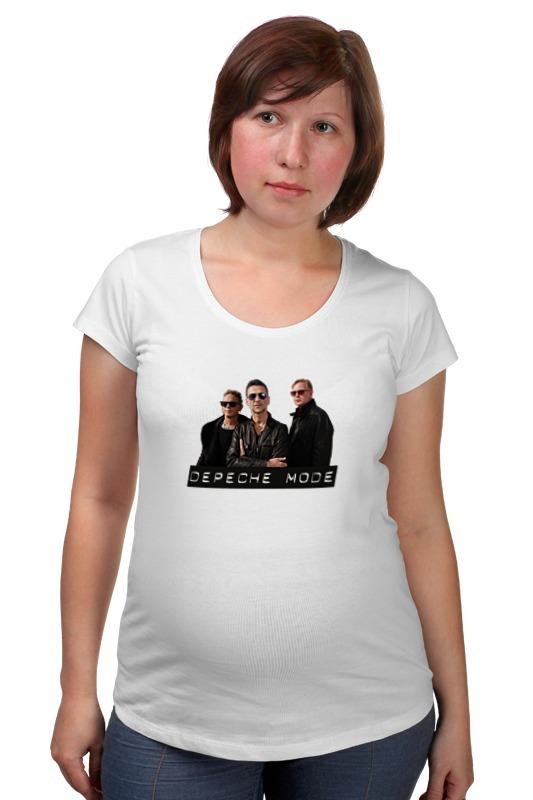 Футболка для беременных Printio Depeche mode - the band футболка для беременных printio bring me the horizon