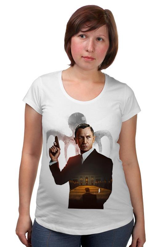 Футболка для беременных Printio 007: spectre футболка для беременных printio property of a lady 007