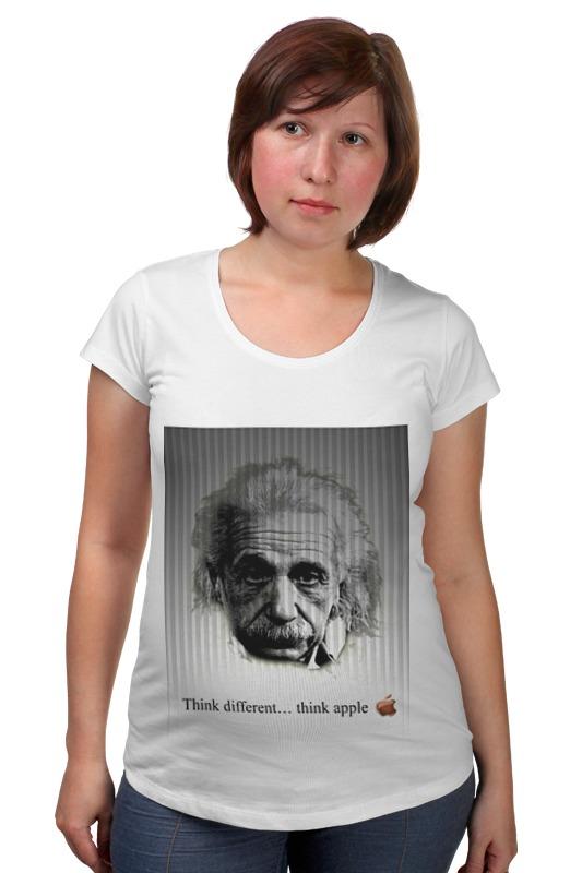 Футболка для беременных Printio Эйнштейн футболка для беременных printio хозяин морей