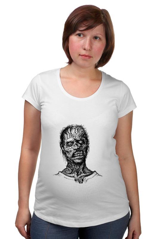 Футболка для беременных Printio Zombie art футболка для беременных printio psy art arsb
