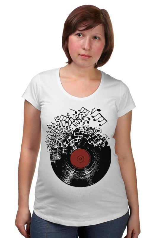 Футболка для беременных Printio Виниловая пластинка футболка для беременных printio виниловая пластинка