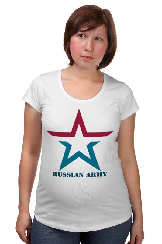 Футболка для беременных Printio russian army футболка для беременных printio property of russian federation
