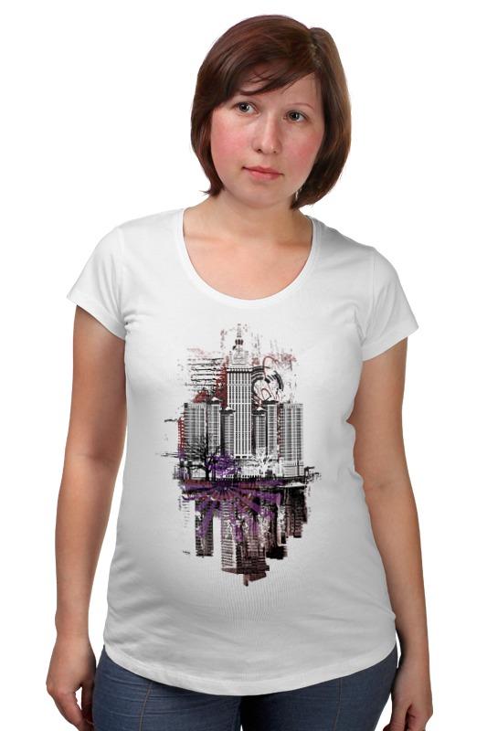 Футболка для беременных Printio City art футболка для беременных printio psy art arsb
