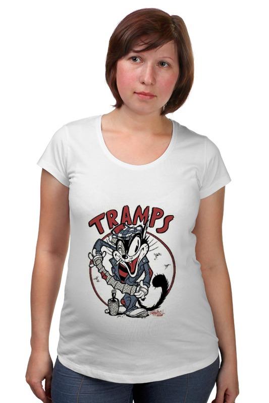 Футболка для беременных Printio Tramps футболка для беременных printio игра слов