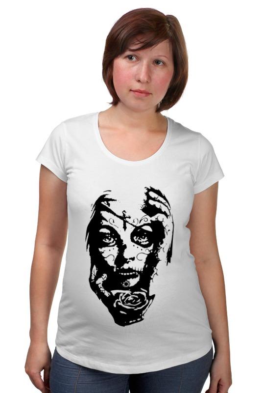Футболка для беременных Printio Day of the dead (день мертвых) футболка для беременных printio season of the witch