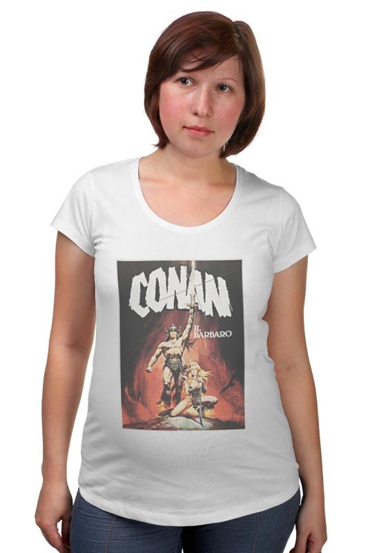 Футболка для беременных Printio Conan the barbarian футболка для беременных printio bring me the horizon