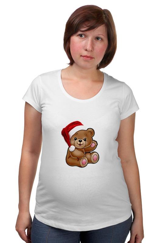 Футболка для беременных Printio Мишка одежда для беременных