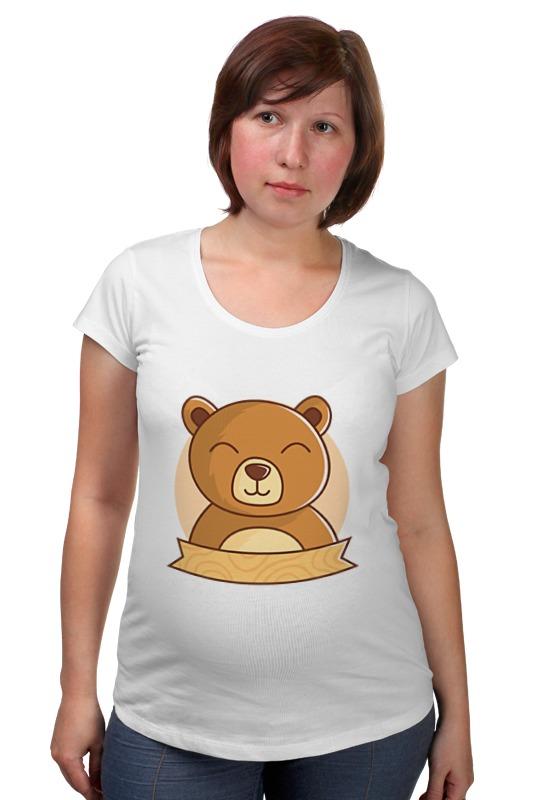 Футболка для беременных Printio Спящий медвежонок футболка для беременных printio россия украина