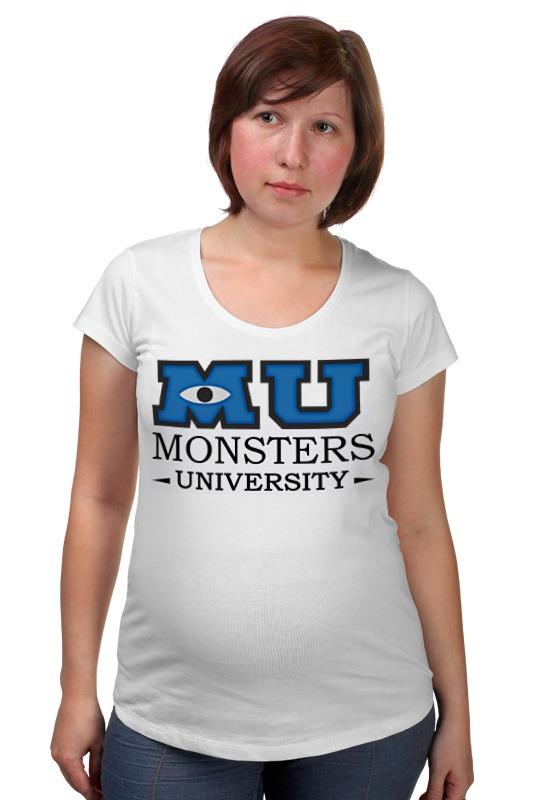 Футболка для беременных Printio Monsters university футболка для беременных printio elements of harmony
