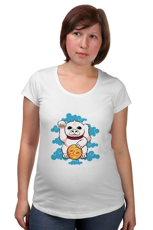 Футболка для беременных Printio Lucky dragon футболка tintin lucky