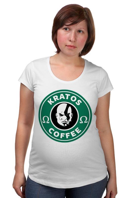 Футболка для беременных Printio Кратос (бог войны) футболка для беременных printio elements of harmony
