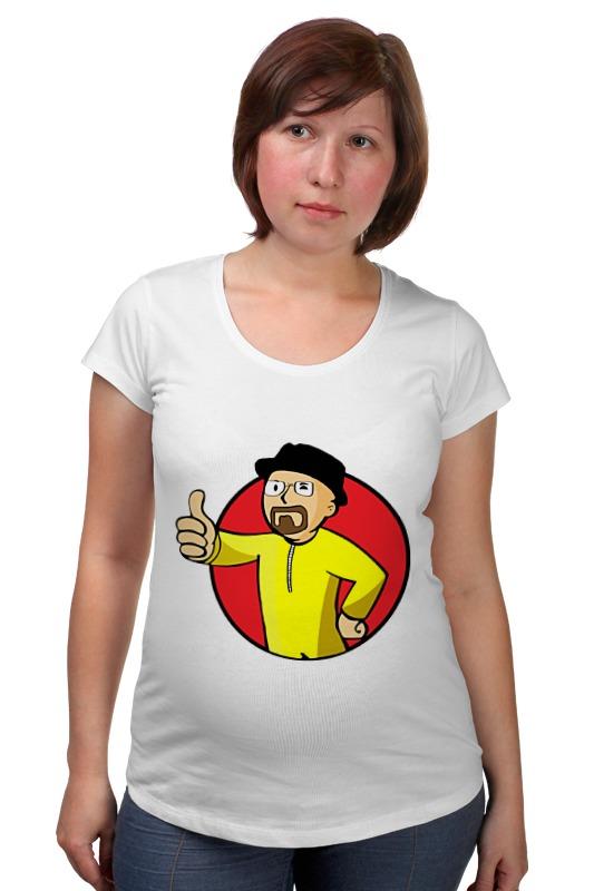 Футболка для беременных Printio Vault boy breaking bad футболка bad boy футболка bad boy rio tee charcoal