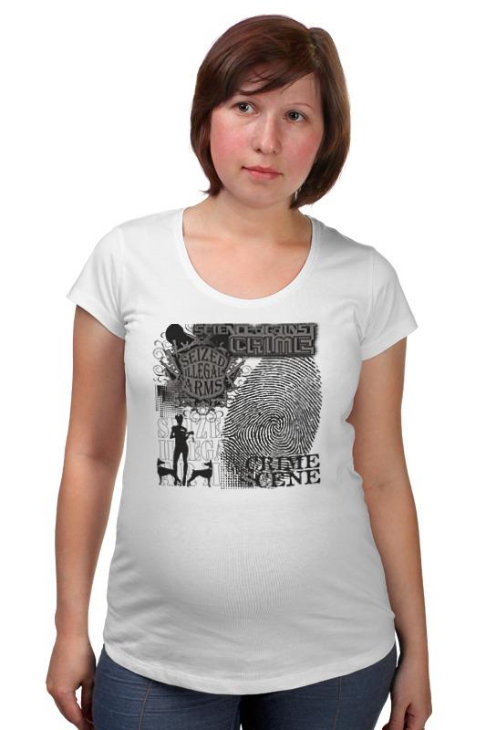 Футболка для беременных Printio Crime scene футболка для беременных printio россия украина